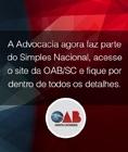 A Advocacia agora faz parte do Simples Nacional.